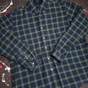 Polo Ralph Lauren VTG flannel button down shirt